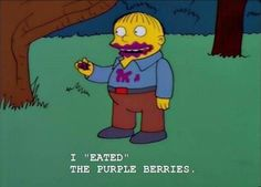 30 Times Ralph Wiggum Charmed Us With His Innocent Stupidity – Funnyfoto Ralph Wiggum, Simpsons Art, Good News, Movies And Tv Shows, Stupid, Picture Video, Laughter, Funny Pictures, Lol