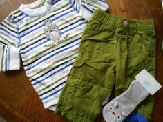 Gymboree NWT Baby Boy 6-12 Adorable Owl lined pant BS & Owl Sock Outfit