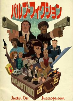 Pulp Fiction by Justin Orr *