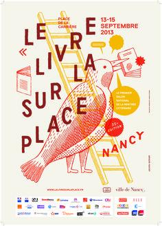 Affiche Livre sur la Place 2013, 35ème édition