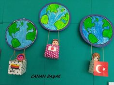 Dünya çocukları 23 nisanda - Toes Tutorial and Ideas