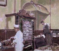 "Walter Richard Sickert (German, ""The Tottenham Distillery"", 1924 Illustrations, Illustration Art, Walter Sickert, Artist Birthday, Avant Garde Artists, Modernisme, Impressionist Artists, Art Database, Art Uk"