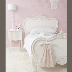 Petit Prince White Single Bed By The French Bedroom Company