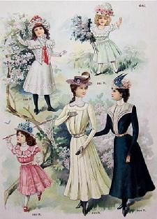 The Barrington House 1900s Fashion, Edwardian Fashion, Vintage Fashion, The Canterville Ghost, Edwardian Era, Historical Costume, Fashion Plates, Vintage Children, Kids Wear