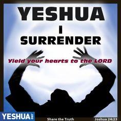 #Yeshua I Surrender