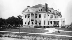 """Located on a hilltop at 99 S. Main St. is one of Churchville's finest homes, the """"Senators Mansion."""""""
