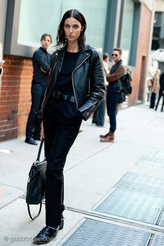 Ruby Aldridge, Outside Milk Studios on http://www.gastrochic.com