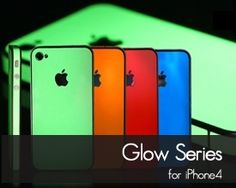 Glow in the dark iphone cases - for that girl who can never find her phone.  You know who you are..  This place has leather and other cool cases, too.