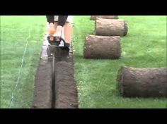 use a trenching tool to install pluming and wiring to shed Outdoor Flowers, Outdoor Fun, Backyard Drainage, Jimny Suzuki, Backyard Seating, Patio, Water Irrigation, Small Tractors, Landscaping Company