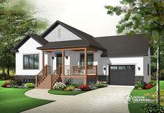 Détail du plan de Maison unifamiliale W3264