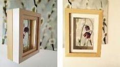 Bilderrahmen mit Blüten, Quelle: Privat