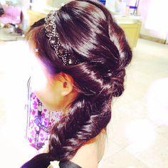 Pink Pewter hair
