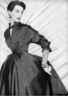 1952 dress by Betty Barclay