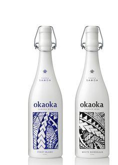 Okaoka by Richard Bayly, via Behance PD