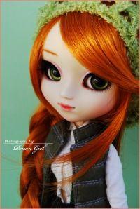 Custom doll make-up by Poison Girl