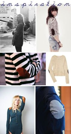 IN LOVE WITH ELBOW PATCHES! DIY Tutorial: DIY Clothes Patching  / DIY Elbow Patches - Bead&Cord