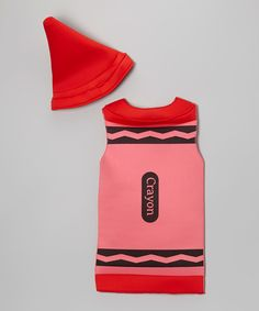 Look at this Red Crayon Dress-Up Set - Toddler & Girls on #zulily today!