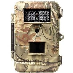 """5MP Trophy Cam Bone Collector RTAP Night Vision by Bushnell. $169.99. Day/night autosensor, External power compatible. Trigger speed one second, Trigger interval ? 1 sec. to 60 min. programmable, Multi-image mode ? 1-3 images per trigger. Adjustable PIR (Lo/Med/High). Black & White Text LCD, 3, 5 or 8 MP high-quality full color resolution. Video length ? 1 second to 60 minute delay, programmable, Widescreen, VGA, QVGA Video at 20 FPS. 3 1/2"""" x 5 1/2"""" and big enough to ..."""