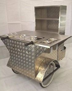Hot Dog or Street Food Cart - With All Accessories Included - Ready to Go!