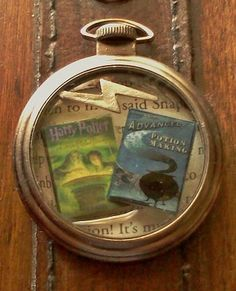Harry Potter and the Half Blood Prince Pocket Watch Themed Pendant Necklace