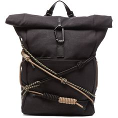 3.1 phillip lim Alpine Roll Top Backpack (1 345 AUD) ❤ liked on Polyvore