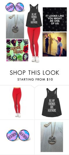 """#thecliqueisgoingtojailparty"" by abbey-mcclellan ❤ liked on Polyvore"
