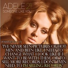 Best Adele Quotes On Body Image  #weightloss #quotes #adele #celebrityquotes #girlquotes #girls