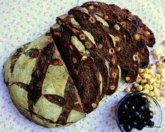 Pane Cacao, amarene e nocciole con Poolish