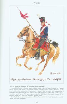 Prussia: Plate 34. Towarczys Regiment, 3rd Squadron, Private, 1806-1807