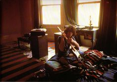 Syd in his Earl's Court Flat, Autumn 1969 by Mick Rock