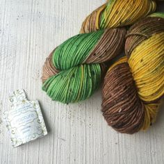 Planning yarn club for 2016 and thinking back to October - I loved this one. Autumn tones on Gallant yarn. Yarn club is now open for sign up via the website too