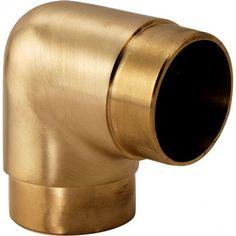 "45 2/"" OD Home Bar Foot Rail Degree Flush Angle Fitting 135 Sunset Copper"