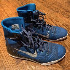 100% authentic ba391 5ab16 Nike Shoes   Kobe Ix 9 Elite High Legacy Blues Size 12   Color  Blue
