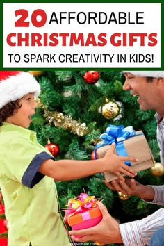 This affordable gift guide is perfect for Christmas or any upcoming reasons to a gift for a child to inspire them to use their imagination and creativity. Creative Christmas Gifts, Christmas Gift Guide, Toddler Gifts, Kids Gifts, Paper Airplane Book, Charades For Kids, Family Presents, Gifted Kids, Kits For Kids