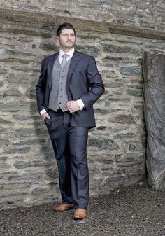 Tomorrows Wedding Emporium - Navy Morning Suit, Call for price (http://www.tomorrowsformal.com/navy-morning-suit/)
