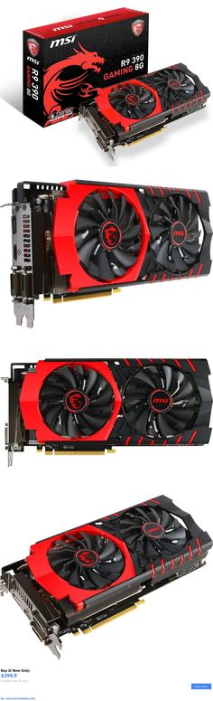 computer parts: Msi Radeon R9 390 Gaming 8G Pci-E 3.0 8Gb 512-Bit Gddr5 Video Card - New Sealed BUY IT NOW ONLY: $298.9 #priceabatecomputerparts OR #priceabate