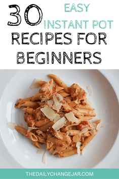 30 Easy Instant Pot Recipes for Beginners - The Daily Change Jar If you are considering (or have already bought) a pressure cooker, here are some Instant Pot recipes for beginners to get you started cooking like a pro. Best Instant Pot Recipe, Instant Pot Dinner Recipes, Casserole Recipes, Soup Recipes, Cooking Recipes, Pressure Cooker Recipes, Pressure Cooking, Frugal Meals, Easy Meals