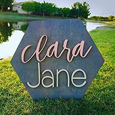 Honeycomb Wood Sign Personalized Nursery Name Sign Baby Shower Gift Wall Art Personalized Sign Established Sign Wooden Signs Nursery Signs, Nursery Room Decor, Baby Name Signs, Baby Names, Cute Baby Girl Names, Established Sign, Personalized Wall Art, Wood Wall Decor, Family Signs