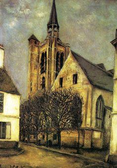 Maurice Utrillo, Church At Fere-En-Tardenois, c.1912, Musee d'Art moderne de la Ville de Paris