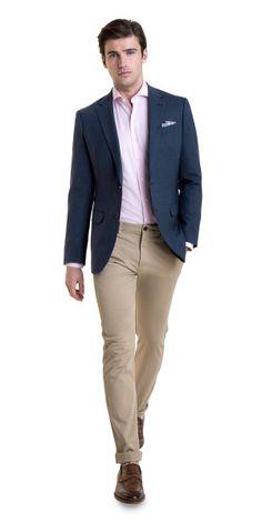 Blue Blazer Outfit Men, Blazer Outfits Men, Mens Fashion Blazer, Stylish Mens Outfits, Men Blazer, Mens Blazer Styles, Men Fashion, Work Outfits, Blazer Bleu