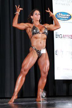 competition bodybuilding Female women