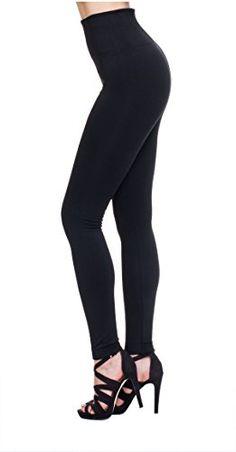 MHOC Fleece Lined Leggings High Waist...
