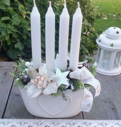 Candles, Advent, Christmas, Handmade, Christmas Decor, Bricolage, Crown Cake, Xmas, Hand Made