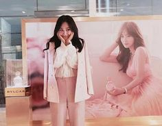After meeting fans from Bvlgari's event for Rose Goldea, here's SNSD's Yuri  greeting fans from SM Cafe.  Check out her cute update below~ ...