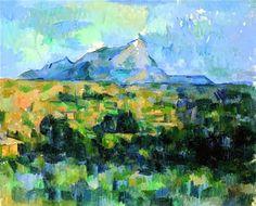 Cézanne, le mont Saint Victoire