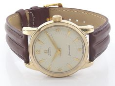 BUMPER OMEGA SEAMASTER AUTOMATIC MENS WATCH  GOLD CAP ON CASE