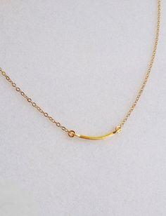 Raise the Bar Necklace // Elizabeth Volk Design