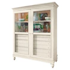The Bag Lady's China Cabinet in Linen.