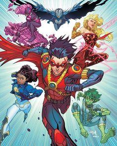 Teen Titans by Jonboy Meyers GO! #teentitansgo #teentitans #superfriends