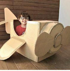 avión de papel, cajas